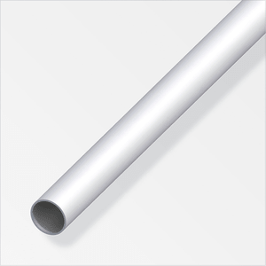 Tube rond 1.5 x 25 mm argent 2 m