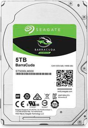 BarraCuda 5 TB 2.5""