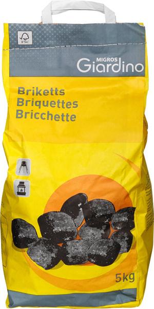 Bricchette di carbone di legna FSC® 5 kg