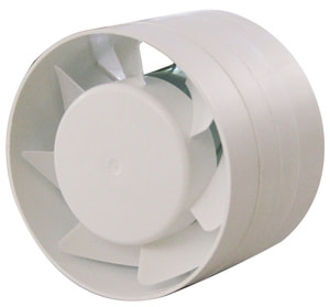 Ventilateur tubulaire à insérer