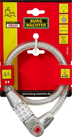 Câble-antivol à combinaison 230