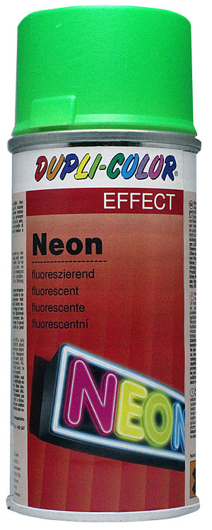Vernice spray fluorescente