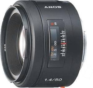 50mm f/1.4 Objectif