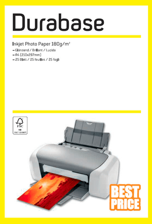 Inkjet Photo Paper A4 180g