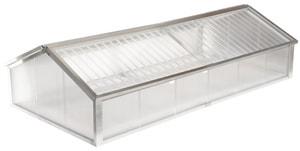 Schildkrötenhaus SAMOS L Acryl/PC 2 Deckel , 206 x 103 cm, H 30/55 cm