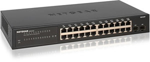GS324T-100EUS 24-Port LAN Switch Gigabit Ethernet