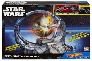 Hot Wheels Carship Todesstern Revolution Race