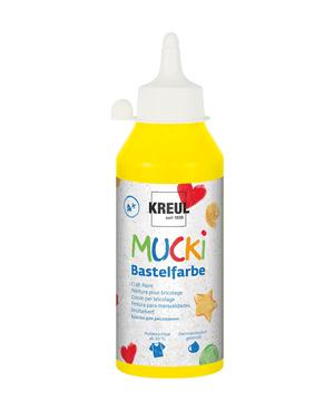 MUCKI, peint jaune, 250 ml