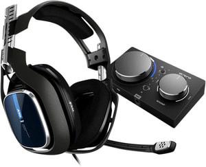 Gaming A40 TR Headset schwarz/blau + MixAmp Pro