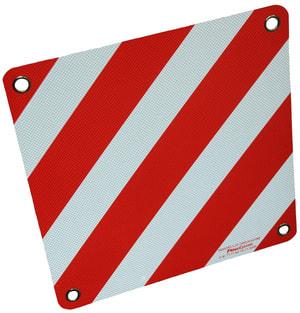Cartello di pericolo in alluminio IT/FR