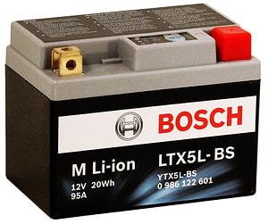 Batteria motociclett Li-ion 20 Wh LTX5L-BS