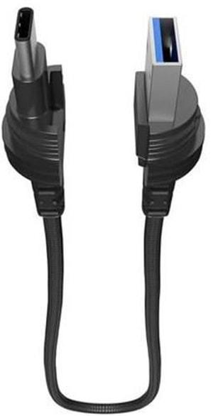 """USB-Kabel 0.4m """"black"""""""