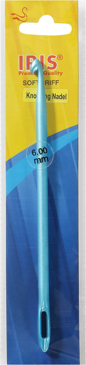 Iris Aluminium Knook g Nadel, 6.00mm