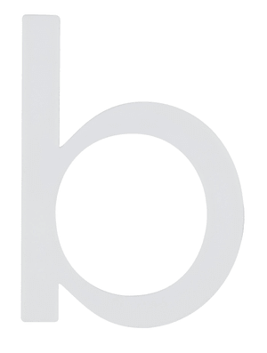 Buchstaben  Nachtleuchtend b
