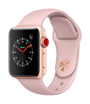 Watch Series 3 GPS/LTE 38mm gold/pinksand