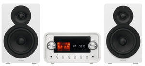 D.10.009 Micro Hifi Anlage weiss