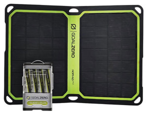 GoalZero Powerbank Guide 10 inkl. Solarpanel