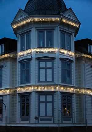 LED rideaux lumineux 3 x 0.4 m
