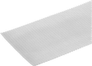 Lamiera stirata 2.2 x 250 mm acciaio grezzo 0.5 m