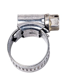 Bride pour tuyau galvanisé 9.5-12mm 2 pcs.