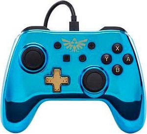 Chrome Controller Blue Zelda