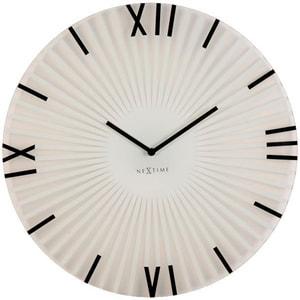 Orologio da muro Attacca il Diametro Bianco