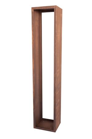 Scaffale p. la legna a catasta 3 ruggine