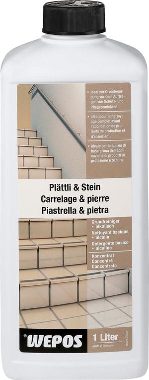 Detergente di base concentrato per piastrelle e pietra, alcalino