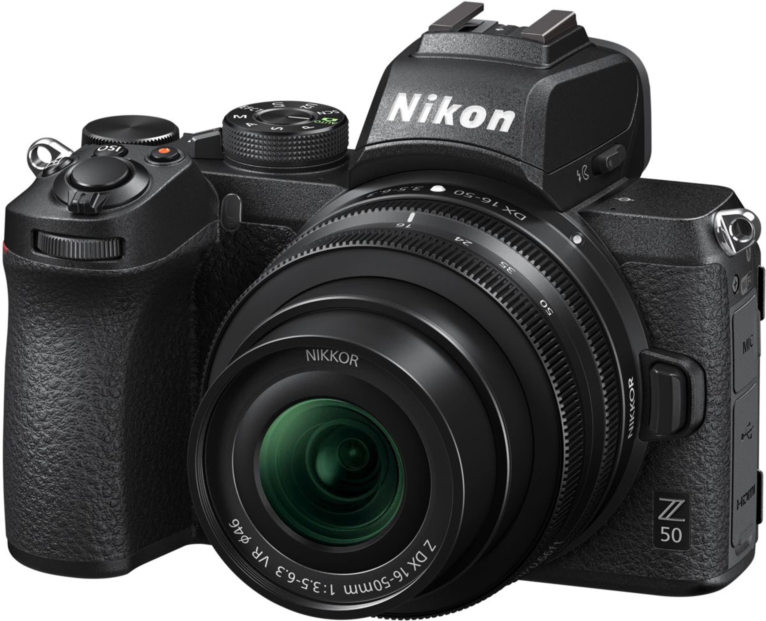 NIKON Z50 Kit, Z DX 16-50mm F/3.5-6.3 VR