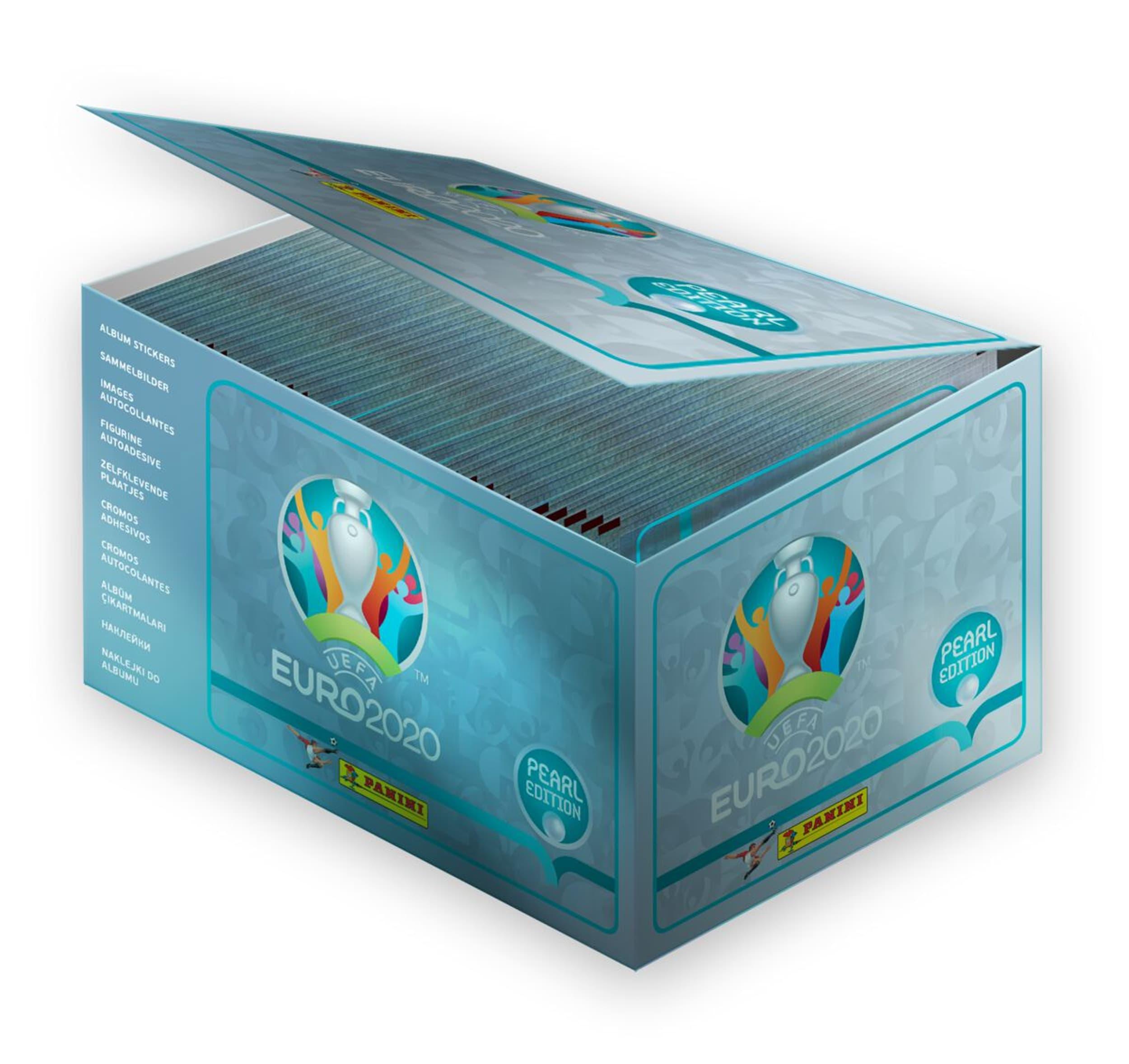 Panini Euro 2020 100x5 Stickers