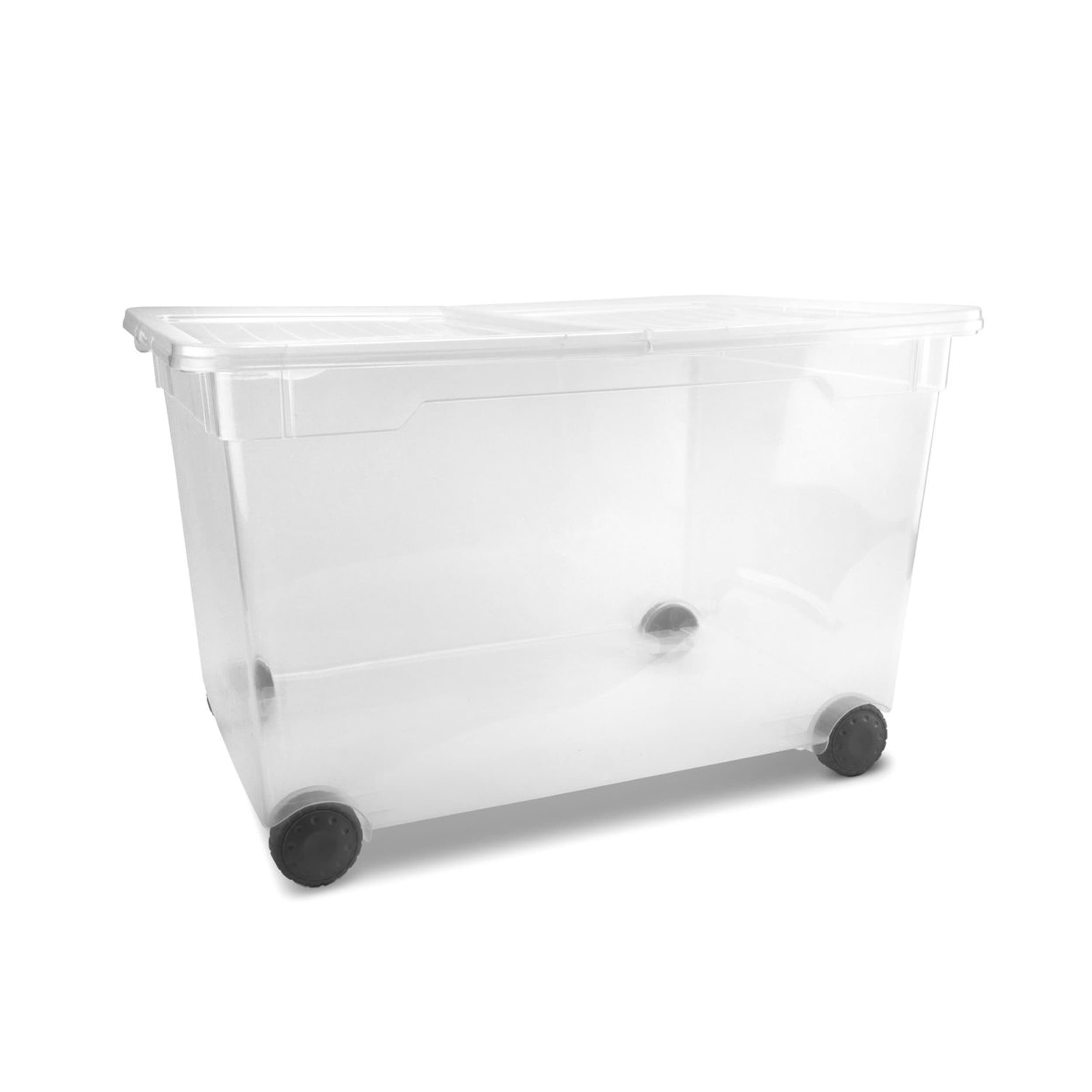 Image of Box mit Rollen CLEAR BOX