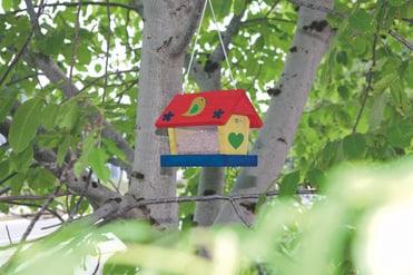 vogelhaus bausatz woodpecker kaufen bei do it garden. Black Bedroom Furniture Sets. Home Design Ideas