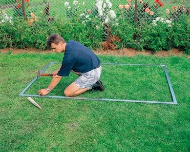 biohort bodenrahmen zu europa 4 kaufen bei do it garden. Black Bedroom Furniture Sets. Home Design Ideas