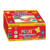 Mucki peinture pour les doingts - textile