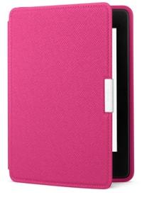 Cover Echtleder für eReader Kindle Paperwhite, pink (5. + 6. Generation)