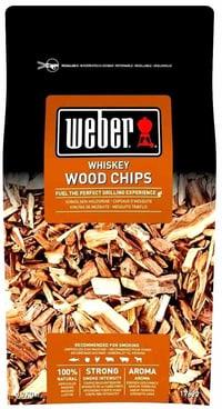 Räucherchips Whiskey Weber 700g