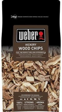 Räucherchips Hickory Weber 700g