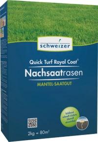 Quick - Turf Royal Coat gazon pour sursemis, 2 kg