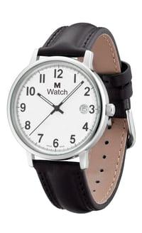 DAILY TIME schwarz Armbanduhr