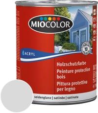 Peinture de protection pour le bois Gris clair 750 ml
