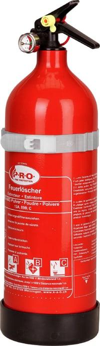 Pulver-Feuerlöscher PRO