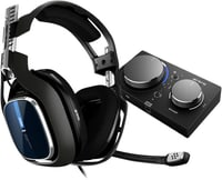 Gaming A40 TR Headset noir/bleu + MixAmp Pro