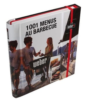 Livre 1001 menus au barbecue in francese