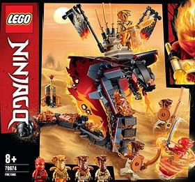 LEGO NINJAGO 70674 Croc' feu 748717200000 Photo no. 1