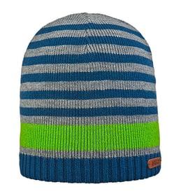 Beanie Streifen Mütze Areco 466886957061 Grösse 57 Farbe Hellgrün Bild-Nr. 1