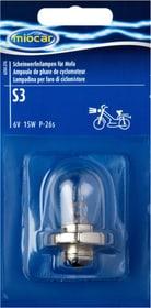 Ampoule S3, Phare cyclomoteur Ampoule moto Miocar 620457600000 Photo no. 1