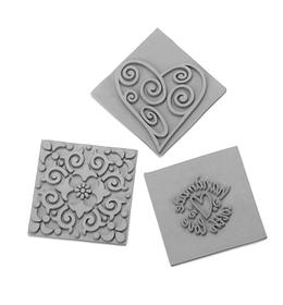 Inserti per sapone, effetto stampi 3pz