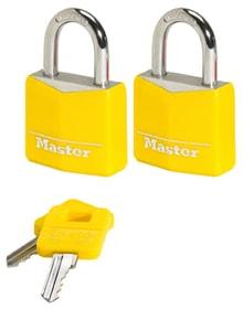 9131, 2er Set Cadenas Master Lock 614179200000 Photo no. 1