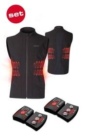 Lithium Pack rcB 1800 inkl. Heat Vest 1.0 Men Heizakku inklusive Weste Lenz 461843704620 Farbe schwarz Grösse 46 Bild-Nr. 1