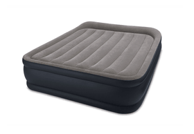 Queen Deluxe Pillow Rest Raised Airbed Le lit d'air / Lit d'appoint Intex 490874300000 Photo no. 1